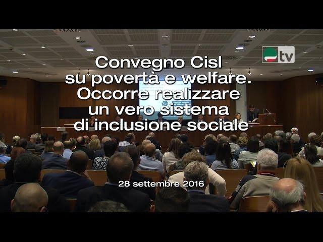 Convegno Cisl su povertà e welfare