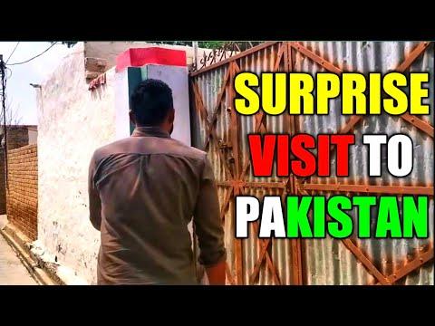 Surprise Visit to Pakistan   VLOG   Irfan Khan