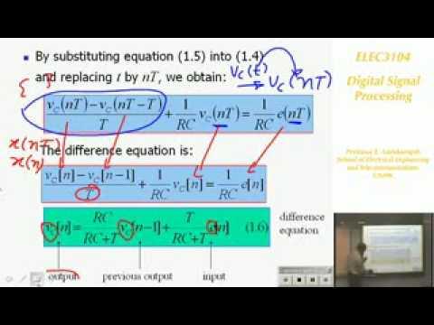 Digitale Signalverarbeitung 1: Signale und Systeme - Prof E. Ambikairajah