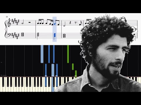 José Gonzalez  - Stay Alive (Walter Mitty) - Piano Tutorial + SHEETS