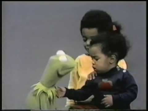 mstatz - Here is a cute segment with Kermit talking to two little kids about how the little girl will be taught how to talk soon by her older brother Chris.