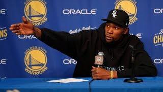 Warriors Blowout Spurs! Durant Talks Knicks Rumors! 2018-19 NBA Season