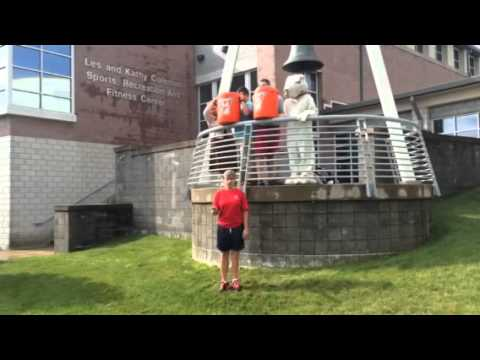 Athletic Director Ellen Dempsey Ice Bucket Challenge