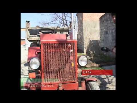 Homemade tractor / Саморобний трактор / Самодельный трактор - RepeatYT - Twoje utwory w petli!
