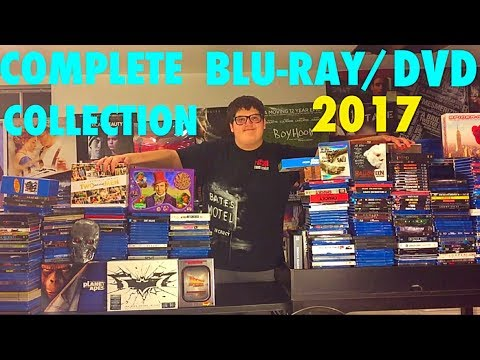 COMPLETE BLU-RAY/DVD COLLECTION 2017