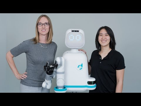 Moxi, ziekenhuis, robot, assistent