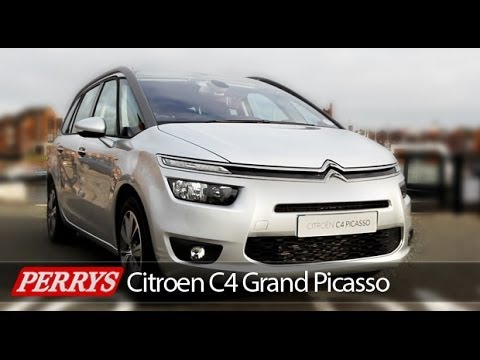 New 2014 Citroen Grand C4 Picasso Exclusive Review