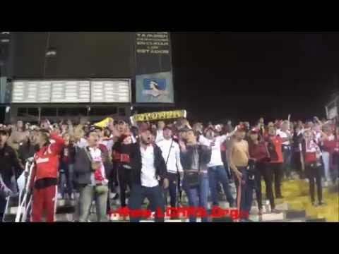 - TRAS LAS HUELLAS DEL LEÓN! - Independiente Santa Fe Vs Colo Colo - CBL 2015 - - La Guardia Albi Roja Sur - Independiente Santa Fe