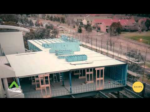 Ausco Modular & SHAPE Group - Canberra Emergency Department