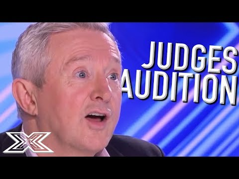 When JUDGES AUDITION! | X Factor Global (видео)