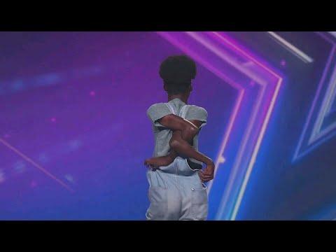 Bone Breaker Hip Hop Dancer Ngabo Elvis Act | East Africa's Got Talent | Africa's Got Talent
