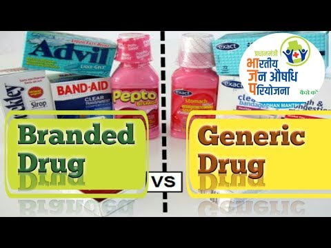 Generic Drug vs Branded Drug | Generic drug Controversy | Analysis (HIndi)