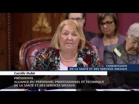 En commission parlementaire sur le projet de loi 10