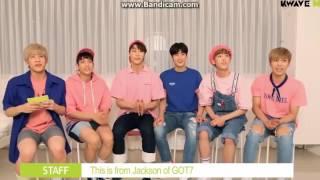 Video [SUB ESPAÑOL] GOT7 Jackson Wang saluda a ASTRO MP3, 3GP, MP4, WEBM, AVI, FLV November 2017