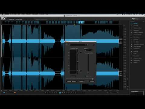iZotope RX - Editing distorted vocals