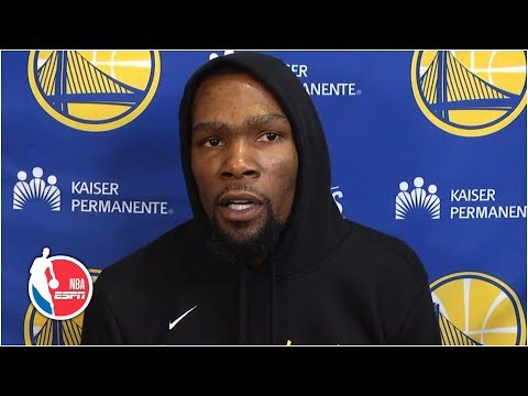 Kevin Durant still has critiques about his shot | 2019 NBA Playoffs