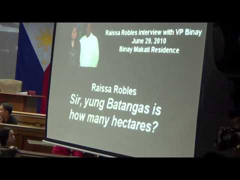 recording - A journalist, who interviewed Vice President Jejomar Binay in 2010, faced the Senate hearing on Thursday to present an audio recording of Binay saying that he owned the controversial property...