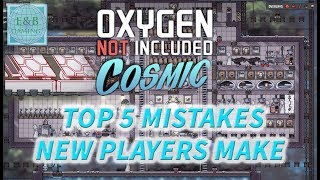 Video TOP 5 MISTAKES NEW PLAYERS MAKE - Tutorial - Oxygen Not Included  Guide MP3, 3GP, MP4, WEBM, AVI, FLV September 2019