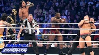 10-Man Tag Team Match: SmackDown, Jan. 24, 2014