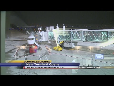 New terminal at Eisenhower airport officially opens