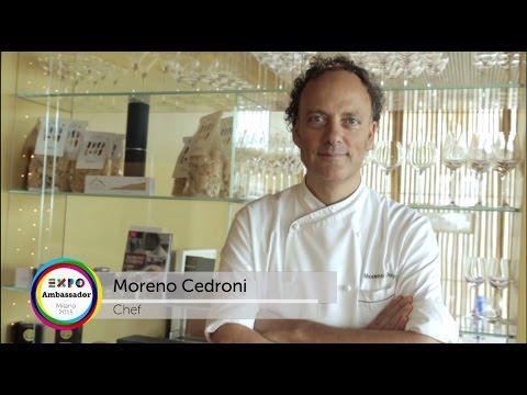Expo Milano 2015 Chef Ambassador Moreno Cedroni