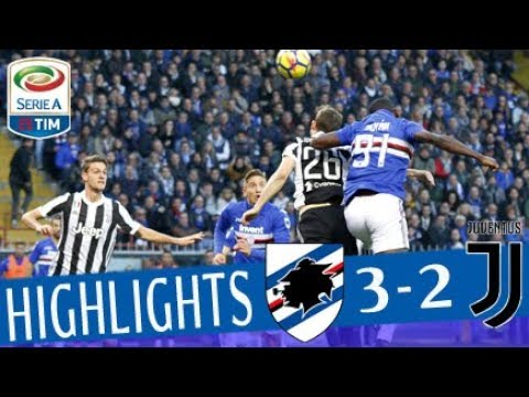 Sampdoria - Juventus 3-2 - Highlights - Giornata 13 - Serie A TIM 2017/18 видео