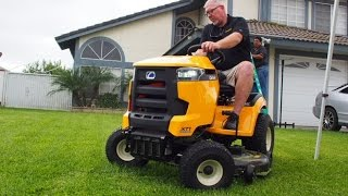 9. Cub Cadet XT1 Enduro Series Riding Mower - Highlights and Features
