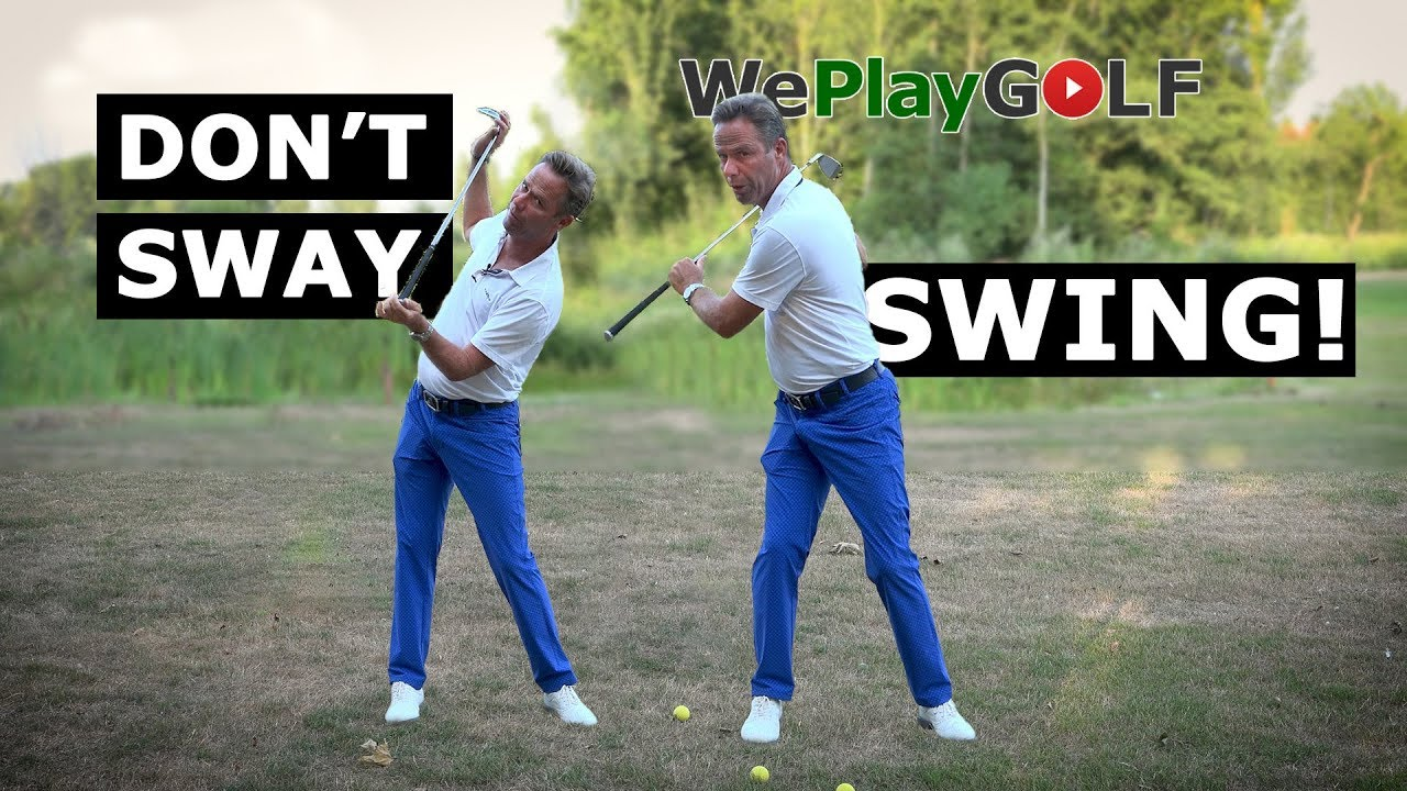 Avoid the SWAY in your SWING. This is an easy solution