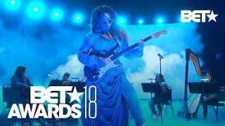 Video H.E.R. Performs Amazing LIVE Version of 'Focus' | BET Awards 2018 MP3, 3GP, MP4, WEBM, AVI, FLV Juli 2018
