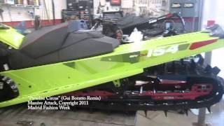 10. 2015 Ski-Doo Freeride 154 800 tMotion - Snowmobile Time Lapse Build