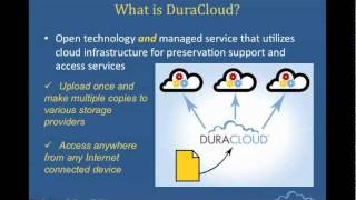 Webinar: An Introduction To DuraCloud