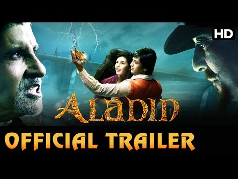 Aladin   Official Trailer   Riteish Deshmukh, Jacqueline Fernandez & Amitabh Bachchan