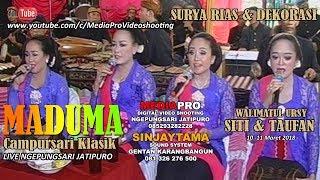 PAMBUKO CAMPURSARI KLASIK MADUMA | Live resepsi penikkahan | Sinjaytama & Mediapro
