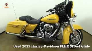 10. Used 2013 Harley Davidson Street Glide Yellow for sale