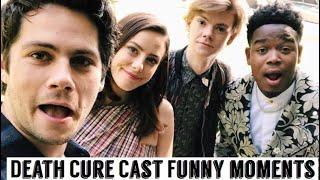 Video Maze Runner Cast: The Death Cure | Funny Moments MP3, 3GP, MP4, WEBM, AVI, FLV April 2018