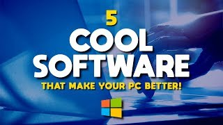Video 5 Cool Software That Make Your PC Better! MP3, 3GP, MP4, WEBM, AVI, FLV Mei 2019