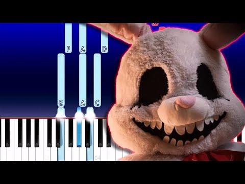 Your Happy Ending A Mr. Hopp's Playhouse 2 Song - random encounters(Piano Tutorial)