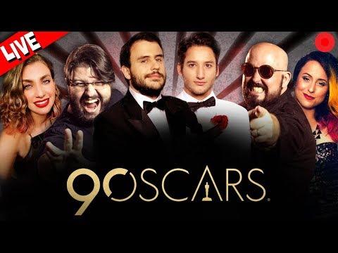 OSCAR 2018 | LIVE OFICIAL TNT  🏆🎬🍿- Pipocando, Jovem Nerd, Lully, Carol Moreira