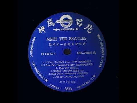 Meet The Beatles Album - Japanese Label - Vinyl 10 Record Set