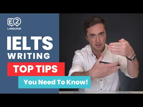 E2 IELTS: Writing Task 2 | TOP TIPS YOU NEED TO KNOW with Jay!