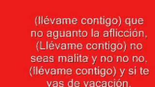 Romeo Santos Llevame Contigo Letra YouTube