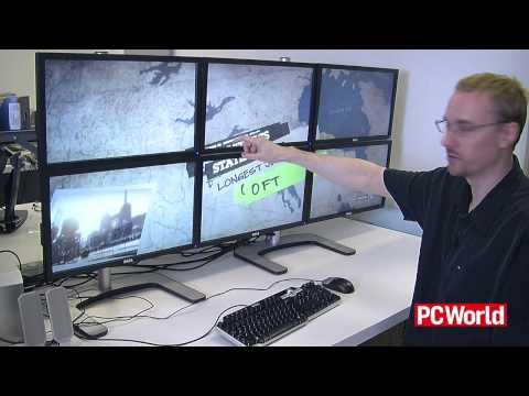 6個螢幕組成的超級個人電腦!