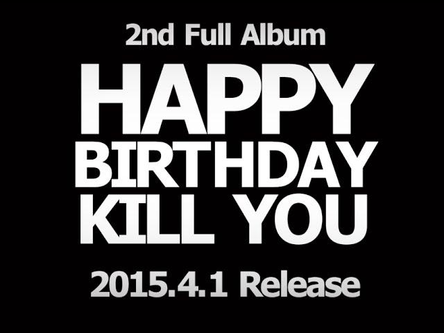 BugLug 2nd Full Album「HAPPY BIRTHDAY KILL YOU」トレーラー