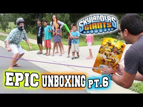 epic unboxing of bouncer play