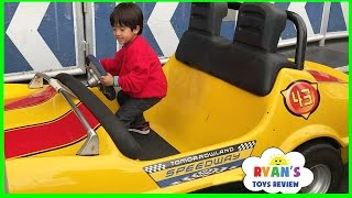 Amusement Park for Kids Rides! Meeting Disney Characters + Animal Kingdom Hotel + Toy Hunt Shopping full download video download mp3 download music download
