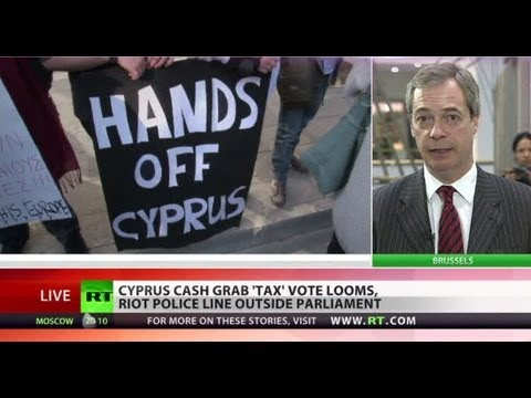 eu - Taking the bailout model to extremes - the EU has given Cyprus an ultimatum - either force savers to save banks, or go bankrupt. United Kingdom Independence ...