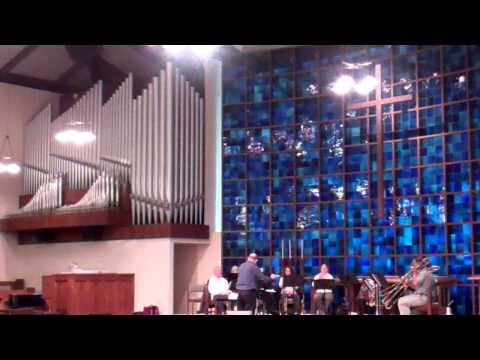 video:The Denver Brass - Cathedral Brass & Organ: High Classics Rehearsal