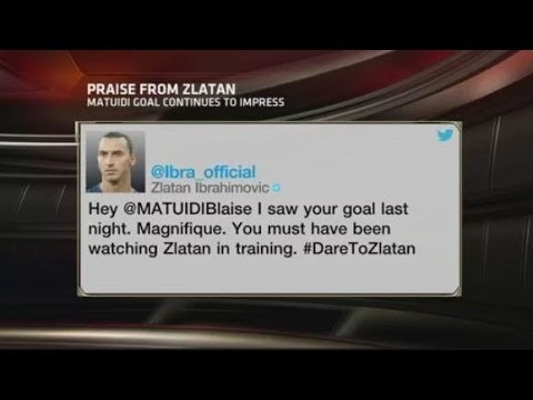 Video: ESPN FC: Praise from Zlatan