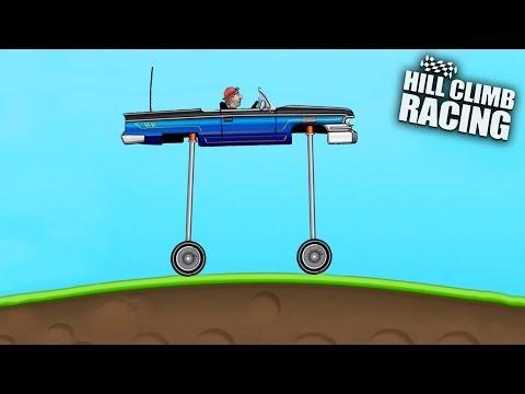 TOP 5 CRAZY VEHICLES (Part 2) - Hill Climb Racing