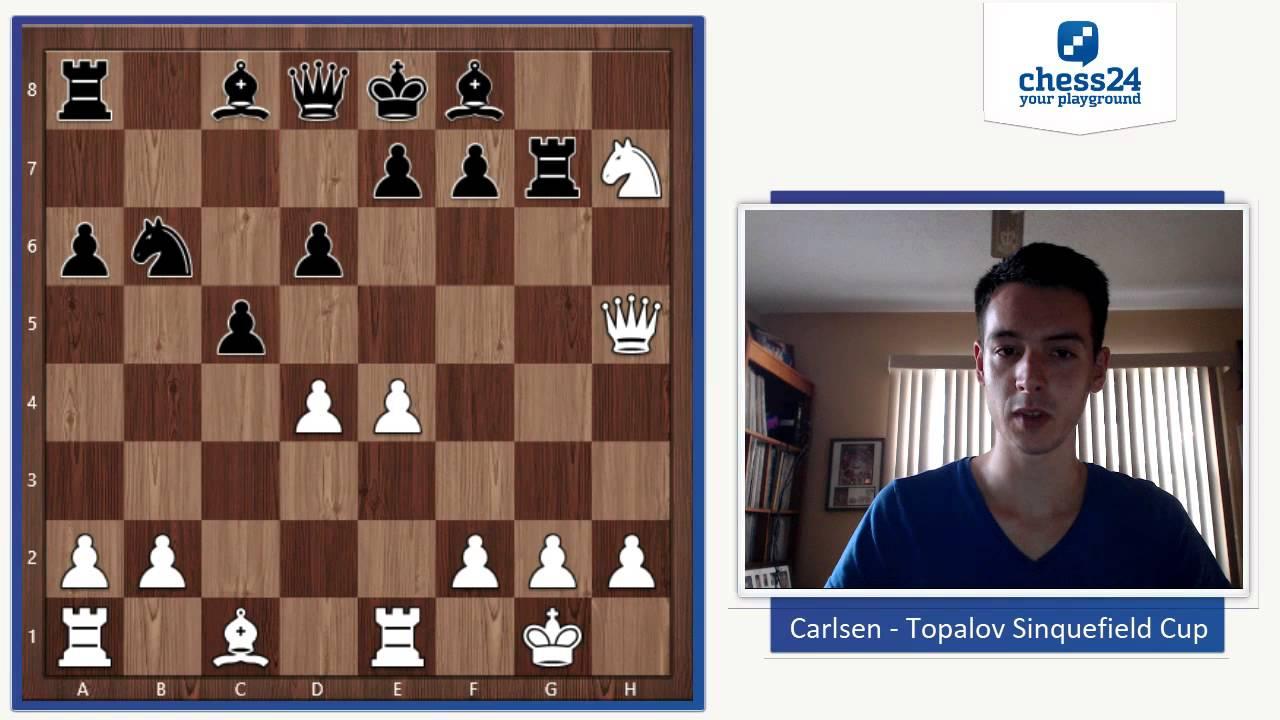 Carlsen – Topalov Sinquefield Cup 2015 | Chess Game Analysis